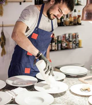Alex Petricean Chef of Maize farm to table in Bucharest
